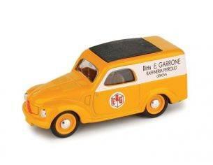 Brumm BM0375B FIAT 500 C FURGONE ERG 1950 1:43 Modellino