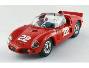 Art Model AM0260 FERRARI DINO 246 SP N.22 LM TEST 1961 VON TRIPS-HILL-MAIRESSE 1:43 Modellino