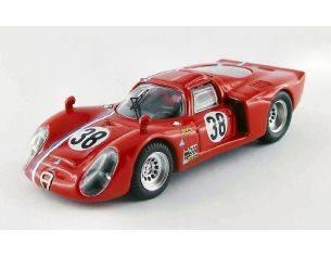 Best Model BT9502 ALFA ROMEO 33.2 N.38 LM TEST 1968 GOSSELIN-TROSCH 1:43 Modellino
