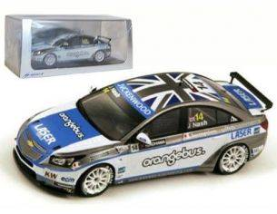 Spark Model S2453 CHEVROLET CRUZE 1.6T N.14 WTCC 2013 JAMES NASH 1:43 Modellino