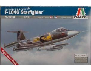 Italeri IT1296 F 104 G RECCE STARFIGHTER KIT 1:72 Modellino