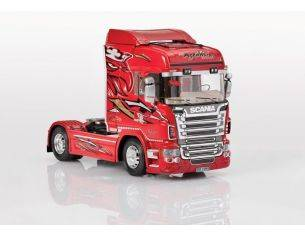 Italeri IT3882 SCANIA R560 V8 RED GRIFFIN KIT 1:24 Modellino