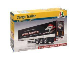 Italeri IT3885 CARGO TRAILER KIT 1:24 Modellino