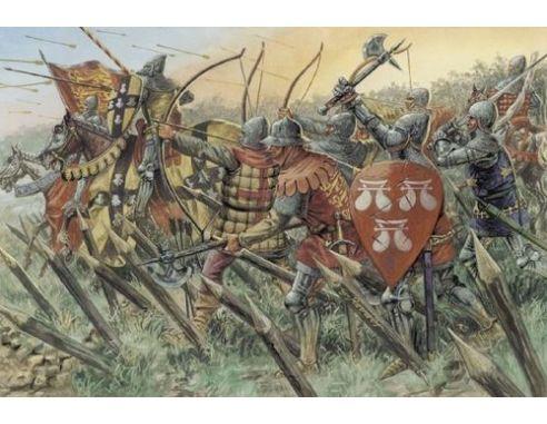 Italeri IT6027 100 YEARS WAR BRITISH WARRIORS KIT 1:72 Modellino