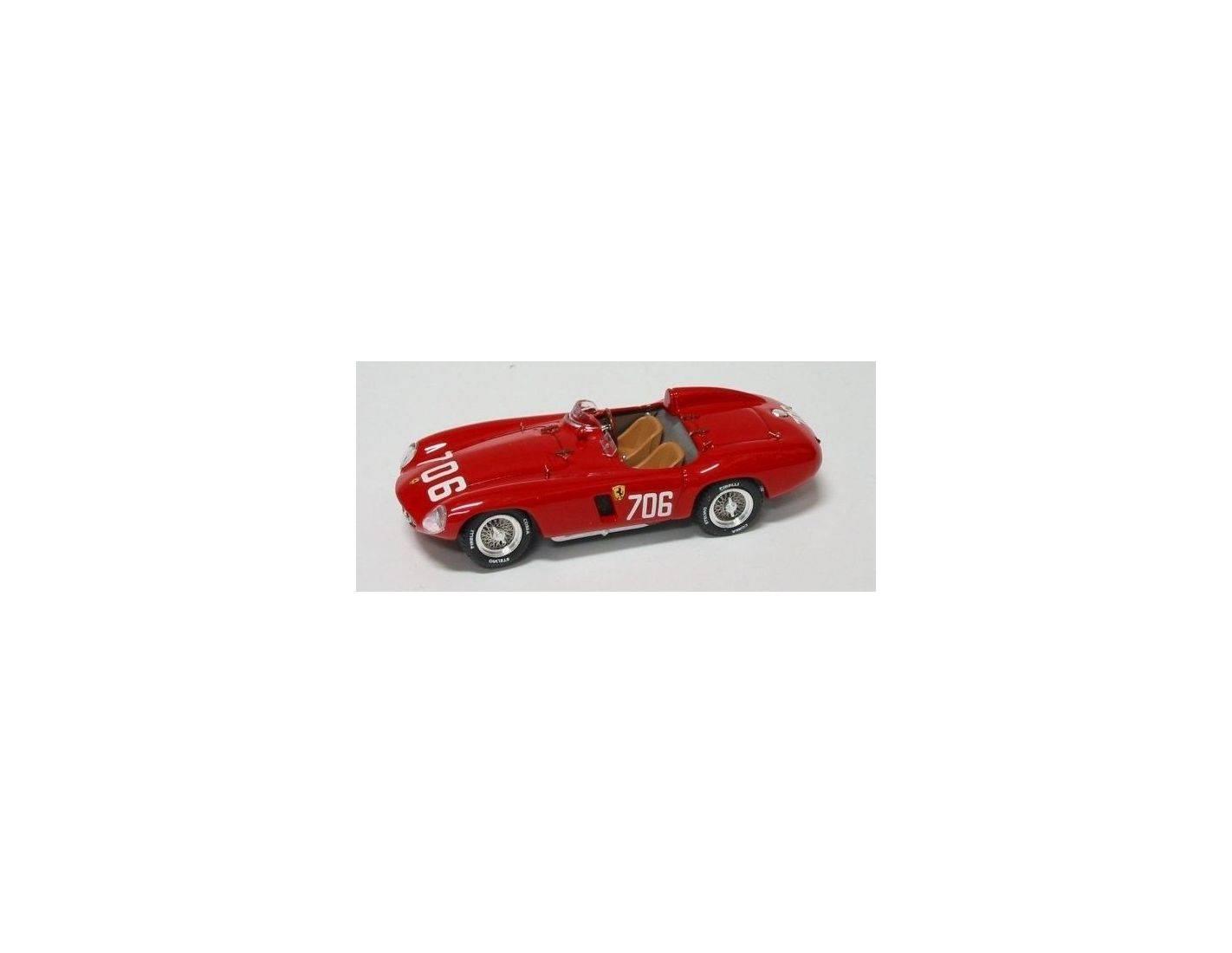 Art Model AM0150 FERRARI 750 MONZA N.706 DNF MILLE MIGLIA 1955 PROTTI-ZANINI 1:43 Modellino