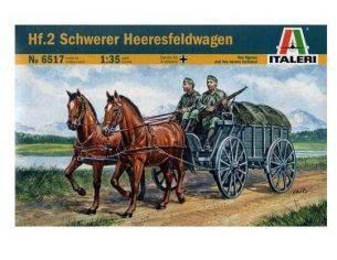 Italeri IT6517 HF.2 SCHWERER KIT 1:35 Modellino