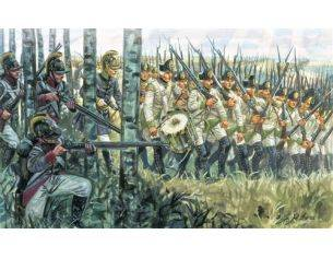 Italeri IT6884 NAPOLEONIC WARS AUSTRIAN INFANTRY KIT 1:32 Modellino