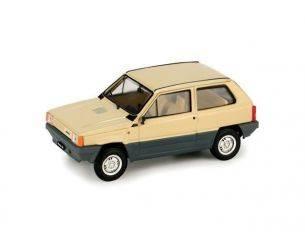 Brumm BM0386-07 FIAT PANDA 30 1980 1a SERIE BEIGE KENIA 1:43 Modellino