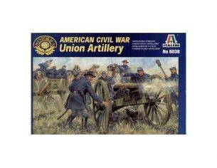 Italeri IT6038 UNION ARTILLERY SOLDATINI KIT 1:72 Modellino