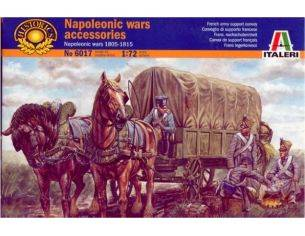 Italeri IT6017 NAPOLEONIC WARS ACCESSORIES KIT 1:72 Modellino