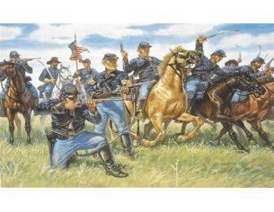 Italeri IT6013 UNION CAVALRY THE BLUE JACKETS KIT 1:72 Modellino