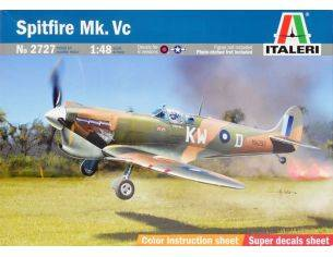 Italeri IT2727 SPITFIRE MK.VC KIT 1:48 Modellino