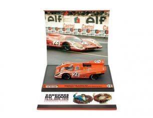 Brumm BMS1232 PORSCHE 917 N.23 WINNER LE MANS 1970 HERRMANN-ATTWOOD 1:43 Modellino