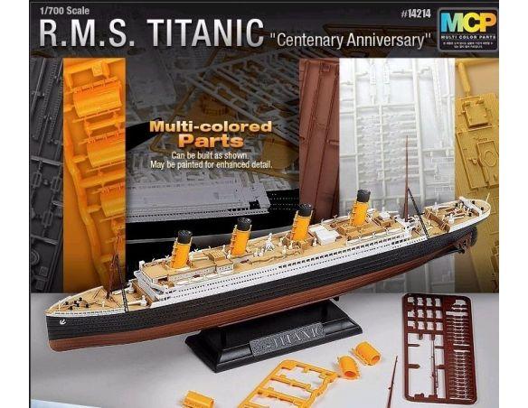 Accademy ACD14214 RSM TITANIC CENTENARY ANNIVERSARY MCP VERSION KIT 1:700 Modellino