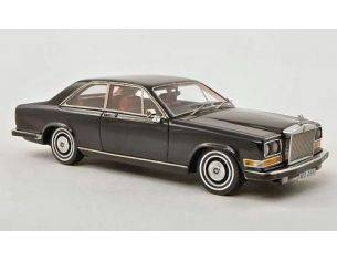 Neo Scale Models NEO44211 ROLLS ROYCE CAMARGUE COUPE' RHD 1975 BLACK 1:43 Modellino