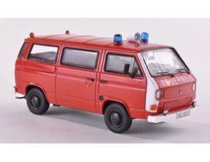 Premium Classixx PREM13055 VW T2B BOX VAN FEUERWEHR RED/WHITE 1:43 Modellino