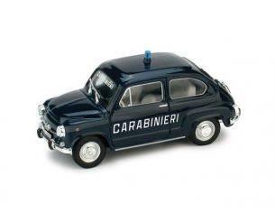 Brumm BM0403 FIAT 600 D CARABINIERI 1965 UPD 1:43 Modellino