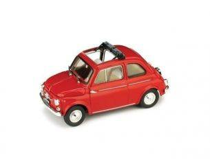 Brumm BM0404-01 FIAT 500 D APERTA 1960 ROSSO 1:43 Modellino