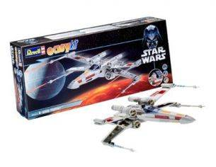 Revell RV6656 STAR WARS X-WING FIGHTER (LUKE SKYWALKER) KIT 1:57 Modellino