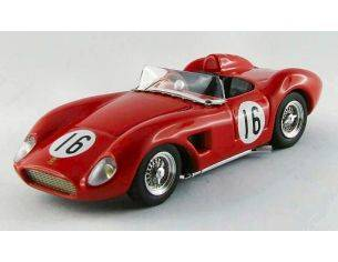 Art Model AM0268 FERRARI 500 TRC N.16 WINNER VIRGINIA 1957 W.HELBURN 1:43 Modellino