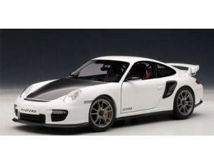 Auto Art / Gateway AA77963 PORSCHE 911 GT2 RS 2010 WHITE 1:18 Modellino