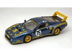 Best Model BT9317 FERRARI 512 BB N.75 40th (ACCIDENT) LM 1980 GUITTENY-BLEYNIE 1:43 Modellino