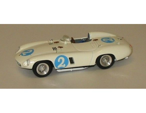 Art Model AM0156 FERRARI 750 MONZA N.2 2nd PALM SPRING 1956 P.HILL 1:43 Modellino