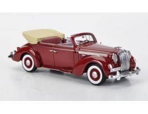 Neo Scale Models NEO43196 OPEL ADMIRAL CONVERTIBLE 1938 DARK RED 1:43 Modellino