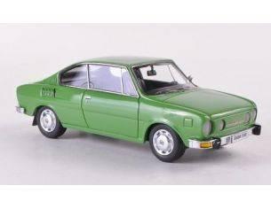 Neo Scale Models NEO44487 SKODA 110 R 1972 GREEN 1:43 Modellino