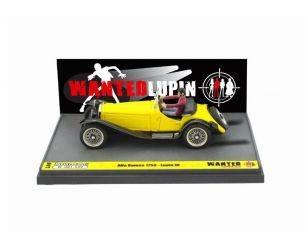 Brumm BML08 ALFA ROMEO 1750 WANTED LUPIN DRIVING 1:43 Modellino