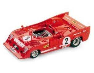 Brumm BM0238 ALFA ROMEO 33 TT12 N.2 WINNER 1000 KM MONZA 1975 MERZARIO-LAFITTE 1:43 Modellino