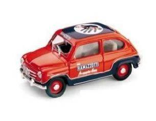 Brumm BM0285 FIAT 600 RAMAZZOTTI 1960 1:43 Modellino