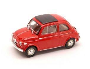 Brumm BM0365-01 FIAT NUOVA 500 TETTO APRIBILE CHIUSA 1959 ROSSO CORALLO 1:43 Modellino
