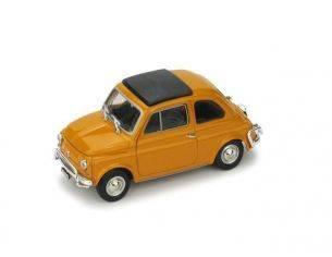 Brumm BM0465-04 FIAT 500 L 1968-72 CHIUSA GIALLO POSITANO 1:43 Modellino