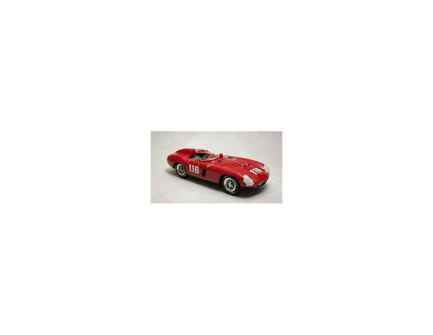 Art Model AM0160 FERRARI 857 MONZA N.116 3rd TARGA FLORIO 1955 CASTELLOTTI-MANZON 1:43 Modellino