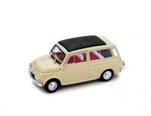 Brumm BM0425-07 FIAT 500 GIARDINIERA 1960 CHIUSA BEIGE SABBIA 1:43 Modellino