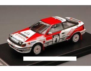 Hpi Racing HPI8573 TOYOTA CELICA GT-FOUR N.4 WINNER 1000 LAGHI 1990 SAINZ-MOYA 1:43 Modellino