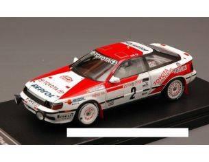 Hpi Racing HPI8572 TOYOTA CELICA GT-FOUR N.2 2nd MONTE CARLO 1990 SAINZ-MOYA 1:43 Modellino