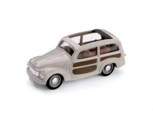 Brumm BM0028-03 FIAT 500 C BELVEDERE APERTA 1951 GRIGIO 1:43 Modellino