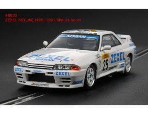 Hpi Racing HPI8533 NISSAN SKYLINE ZEXEL N.25 24 H SPA 1991 SLOT 1:32 Modellino