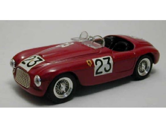 Art Model AM0161 FERRARI 166 SPYDER N.23 ACCIDENT LM 1949 LUCAS-FERRET 1:43 Modellino