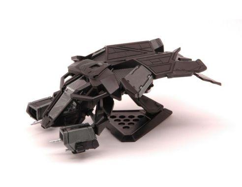 Hot Wheels HWBCJ82 BATMOBILE BATMAN TDKR-BAT FLYING VEHICLE 1:50 Modellino