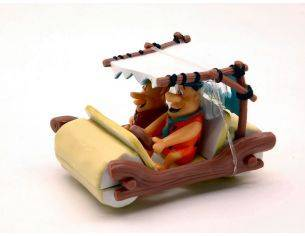 Hot Wheels HWBCJ83 FLINTSTONE'S THE FLINTMOBILE 1:50 Modellino
