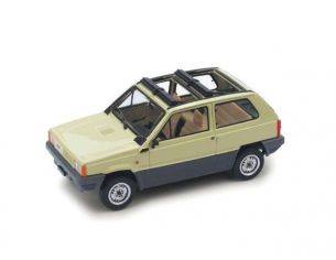 Brumm BM0439-03 FIAT PANDA 45 1981 TETTO APERTO AVORIO SENEGAL 1:43 Modellino