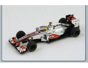 Spark Model S3045 MC LAREN L.HAMILTON 2012 N.4 5th MONACO GP 1:43 Modellino
