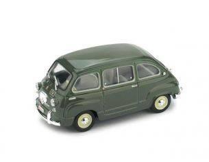 Brumm BM0451 FIAT 600 MULTIPLA POLIZIA 1960 1:43 Modellino