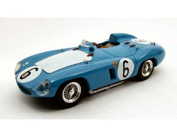 Art Model AM0164 FERRARI 750 MONZA N.6 2nd 1000 KM PARIGI 1956 LUCAS-SCHELL 1:43 Modellino
