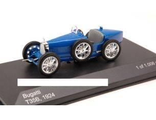 White Box WB045 BUGATTI TYPE 35B 1924 BLUE 1:43 Modellino