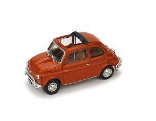 Brumm BM0464-02 FIAT 500 L 1968-72 APERTA CORALLO SCURO 1:43 Modellino