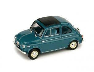 Brumm BM0365-05 FIAT NUOVA 500 TETTO APRIBILE CHIUSA 1959 BLU MEDIO 1:43 Modellino